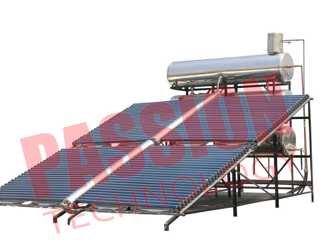 Professional Tank Solar Water Heater , Low Pressure Solar Water Heater Vacuum Tube