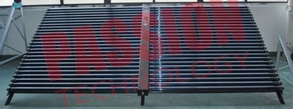 Non Pressure Evacuated Tube Solar Thermal Collectors 50 Tubes For Commercial