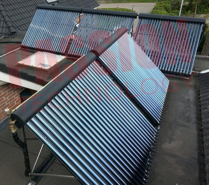 Anti Freezing Heat Pipe Solar Heating Collector For Home Hotel Solar Water Heater